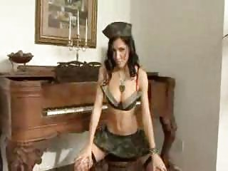 Rebecca gets a hardcore army brat welcome