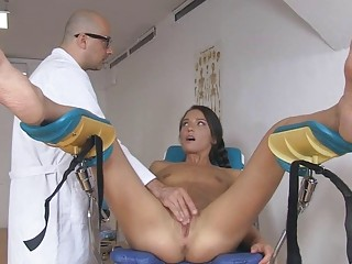 Nataly Gold getting horny while having a big dick