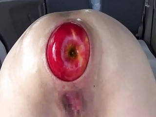 Extreme anal fisting and huge apple insertions