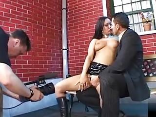 Valentina Velasquez getting a taste of a hard cock