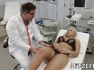 Fake doctor has a prescription for the gorgeous young nurse