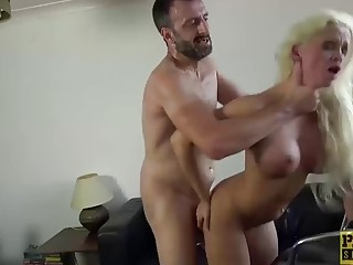 PASCALSSUBSLUTS Blonde Babe Submits To Rough Anal