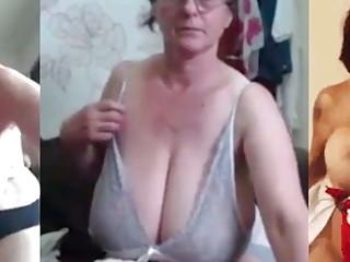 Huge MILF Tits, Jerk Off Challenge To The Beat #7