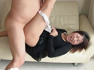 Pretty Asian with a big ass fucked hard