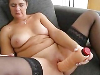 Angela from Austria trying New toys