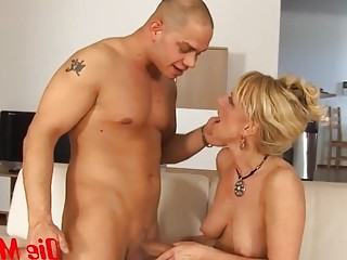 Mom also the hard nice cock