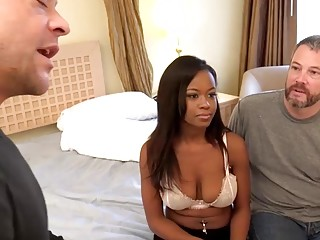 Jezabel Vessir fucks her masseur instead of her hubby