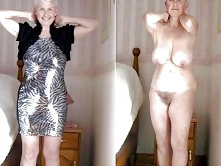 Everyday wives dressed and undressed