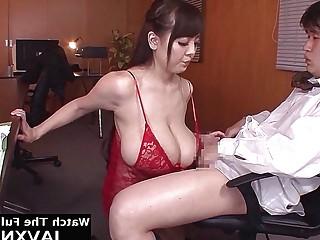 Big Tits Japanese Office Slut