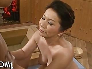 Cute mature asian chizuru iwasaki screwed well