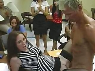 Male stripper fucked the birthday girl