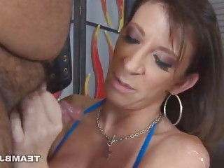 Sara Jay treats small cock fan