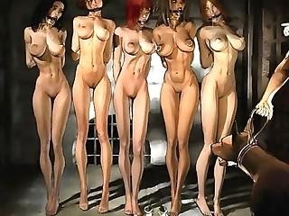 Bdsm artist Agan Medon loves to draw his ladies with big tits and slender waists