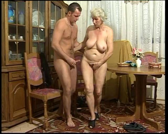 Two Hot Milfs Young Cock