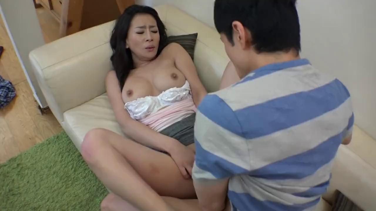 Asian Step Mom Fucks Son