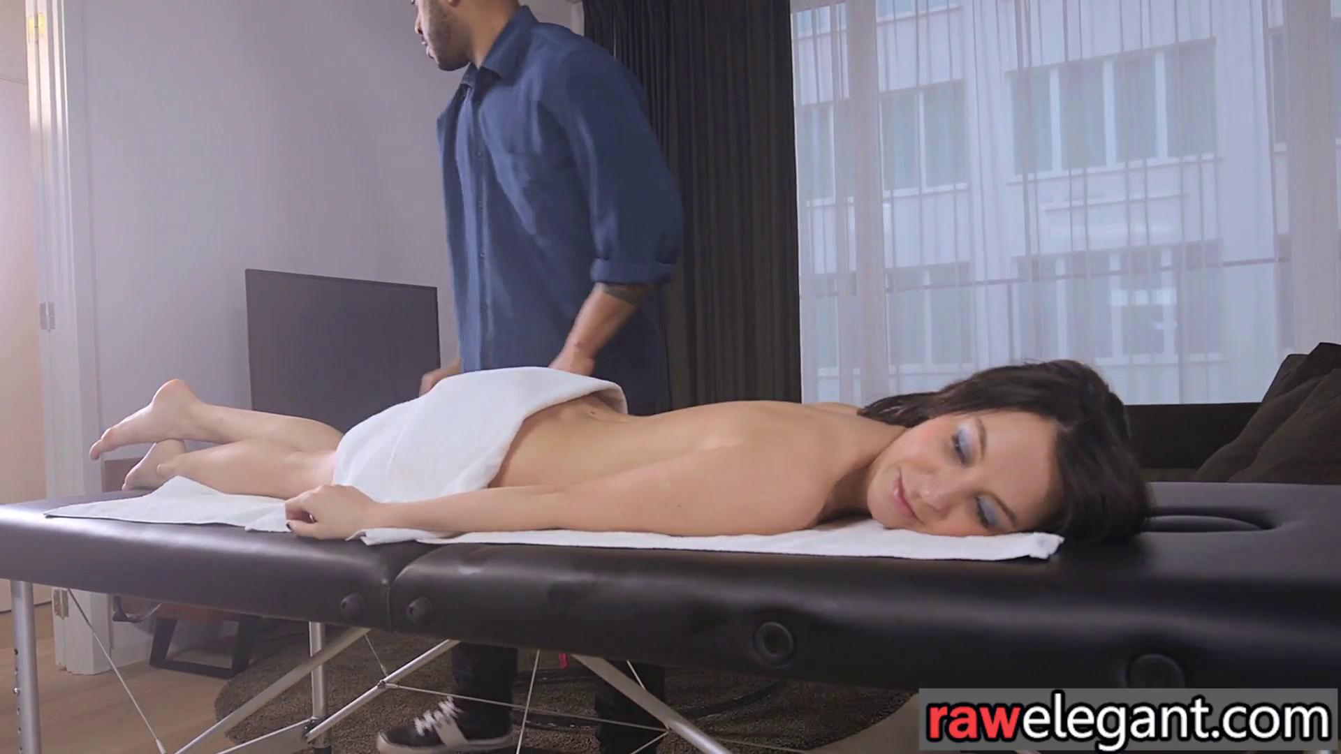 Brunette on massage table gets fucked Busty Brunette Massage Table Fucking Bubbaporn Com