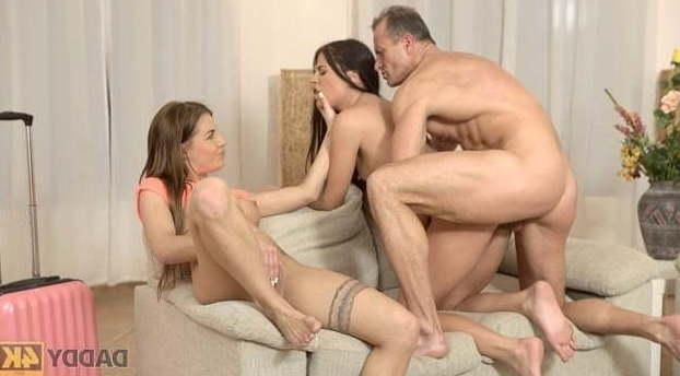 Ffm Threesome Milf Pegging