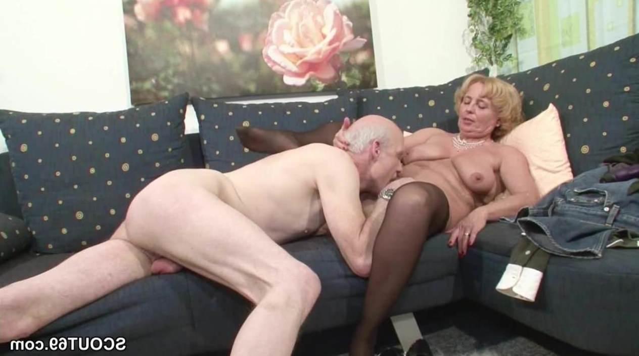 Ficken porno omas Oma Sex