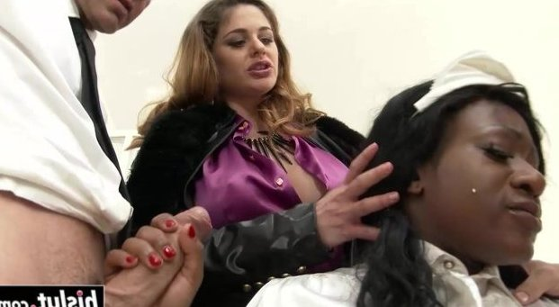 Blonde maid gets fucked by black couple Couple Fucking Their Black Maid In The Bathtub New 16 Jul 2021 Sunporno